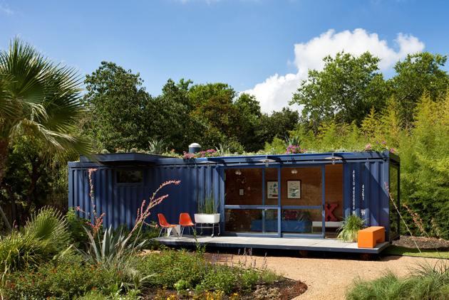 Caseta de jard n de contenedores casa contenedor for Casetas jardin baratas